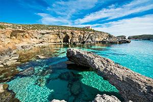 Blue Lagoon på Malta