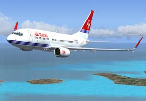 flyg till malta
